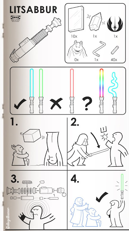 The Nerd Code - Google+ - #ikea In stores now: The Litsabbur!