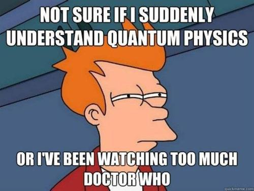Geeks of Doom - Google+ - I wonder...   #DoctorWho
